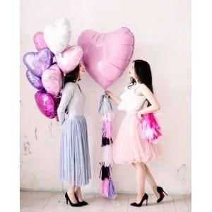 Большое розовое сердце