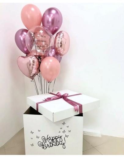Коробка с шарами - Баблс