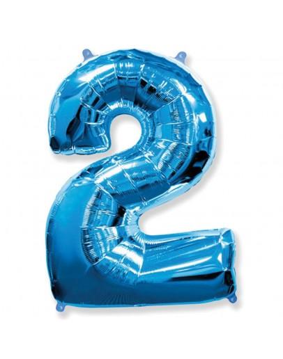 Цифра Blue 2