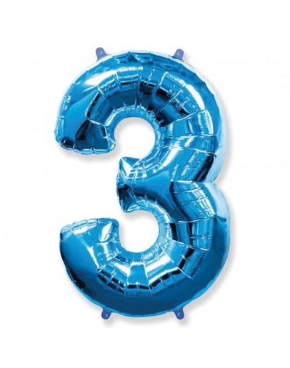 Цифра Blue 3