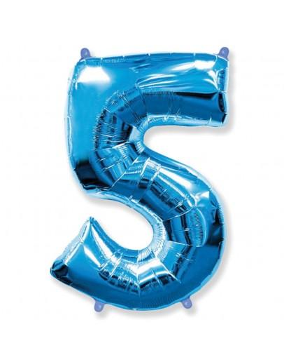 Цифра Blue 5