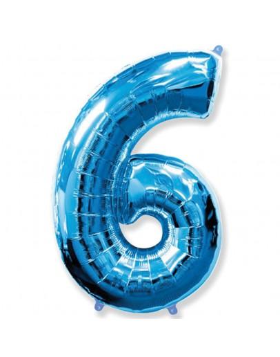 Цифра Blue 6