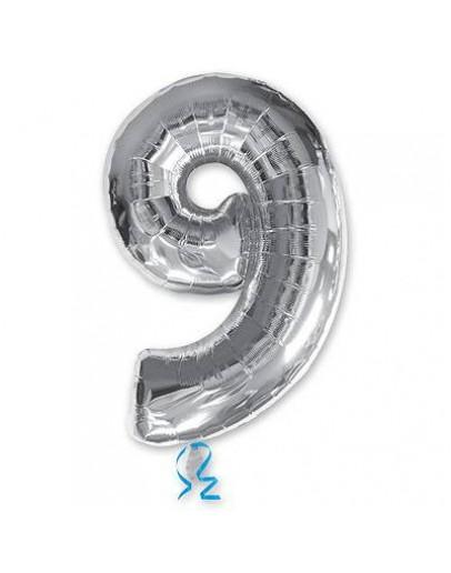 9 Цифра Silver