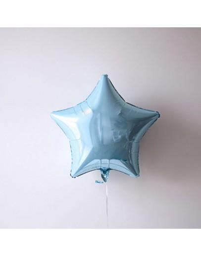 Фольгированная звездочка Blue