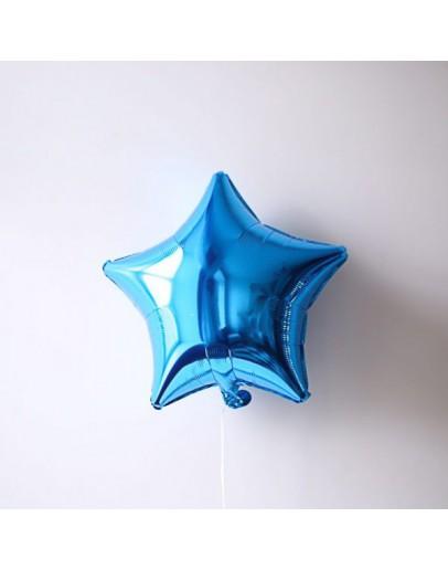 Фольгированная звездочка D-Blue