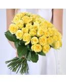 51 желтая роза