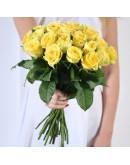 желтые розы 31